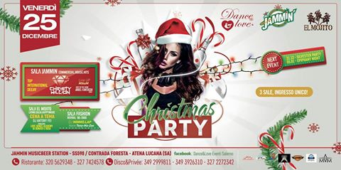 Dance&Love ★ Christmas Party @ Jammin // 3 Sale: Commerciale + Revival + Latino // ★ Guest star : CHRISTY MILLION ★