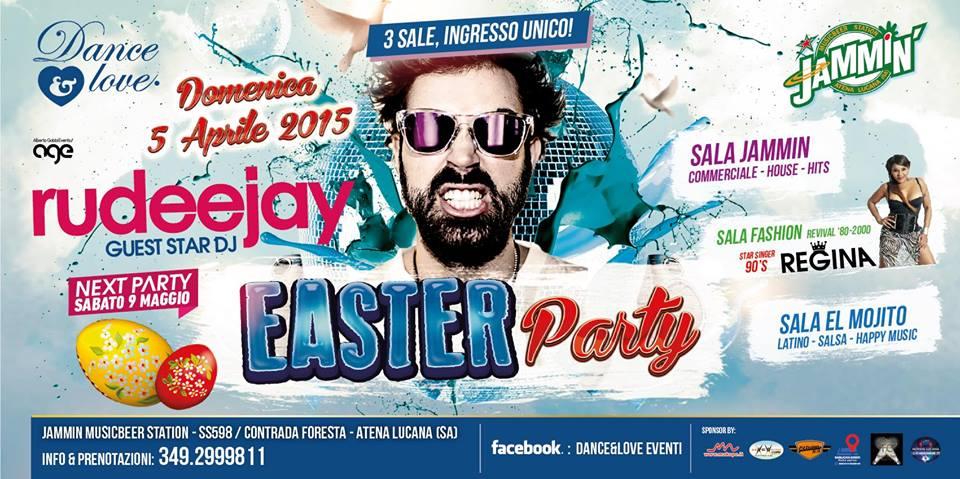 5/04 Dance&Love EASTER PARTY_ RUDEEJAY + REGINA _ 3 sale:Commerciale+Revival+Latino **** ACQUISTA SUBITO LA PREVENDITA E RISPARMI ****