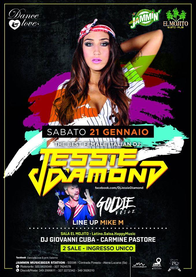 Jessie Diamond Dj + Goldie Voice  / 2 Sale Disco + latino